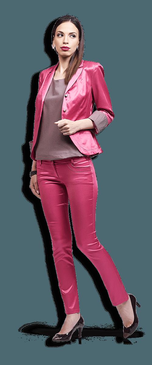 25d7efadb33 LuxyLu - Сатенен костюм от сако и панталон - Електронен магазин за ...